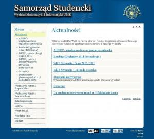 Samorząd Studencki  WMiI