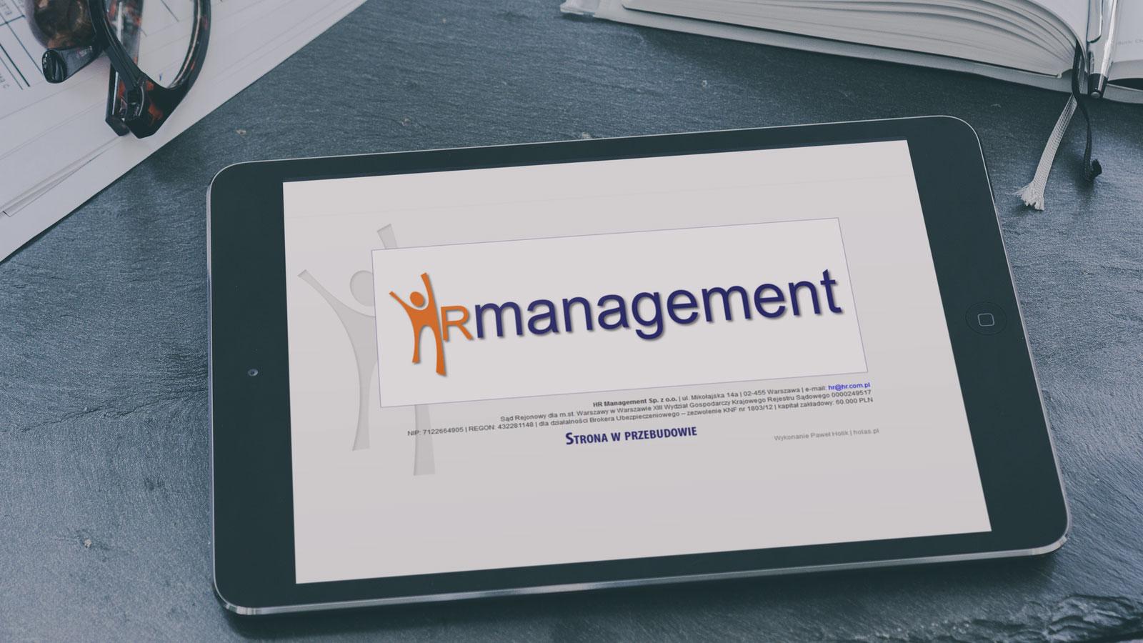 HR Management - wizytówka